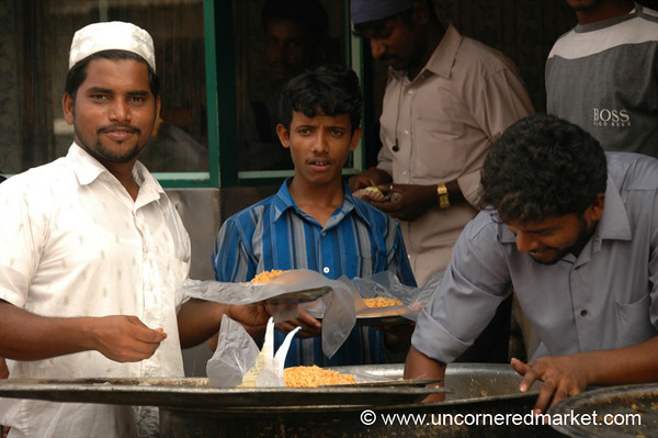 Serving Up Biryani - Chennai, India