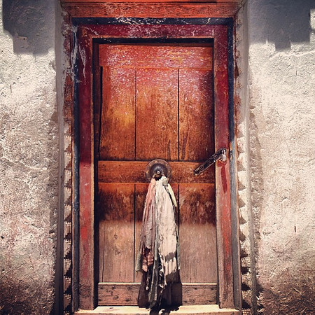 Favorite ancient doorway candidate #22. Hemis Gompa, Tibetan Buddhist monastery #Ladakh