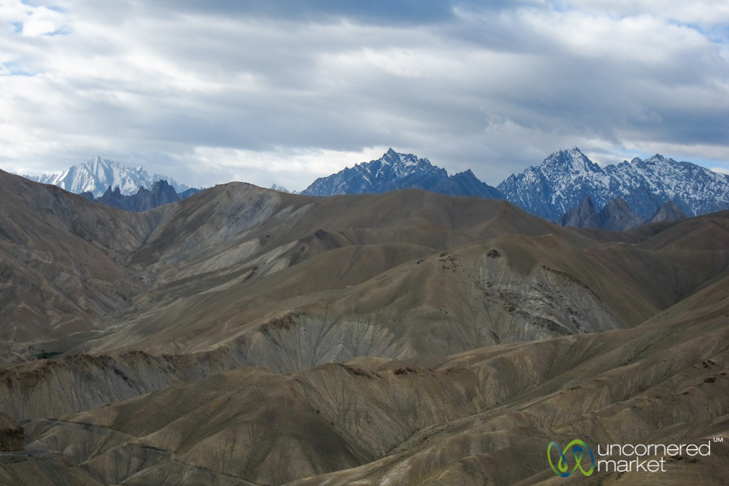 Ladakh Mountain View Between Kargil and Leh - Ladakh, India