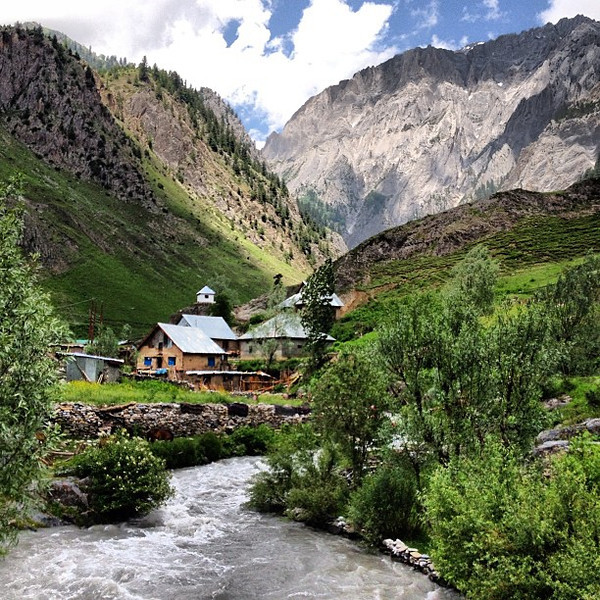 Kashmir, at times, tricked us into thinking we were in Switzerland. Nanoseconds later, we realized just where we were...India, not far from the Pakistan border.