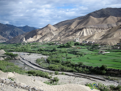 Mountains, Valleys and Villages - Bus ride to Ladakh, India