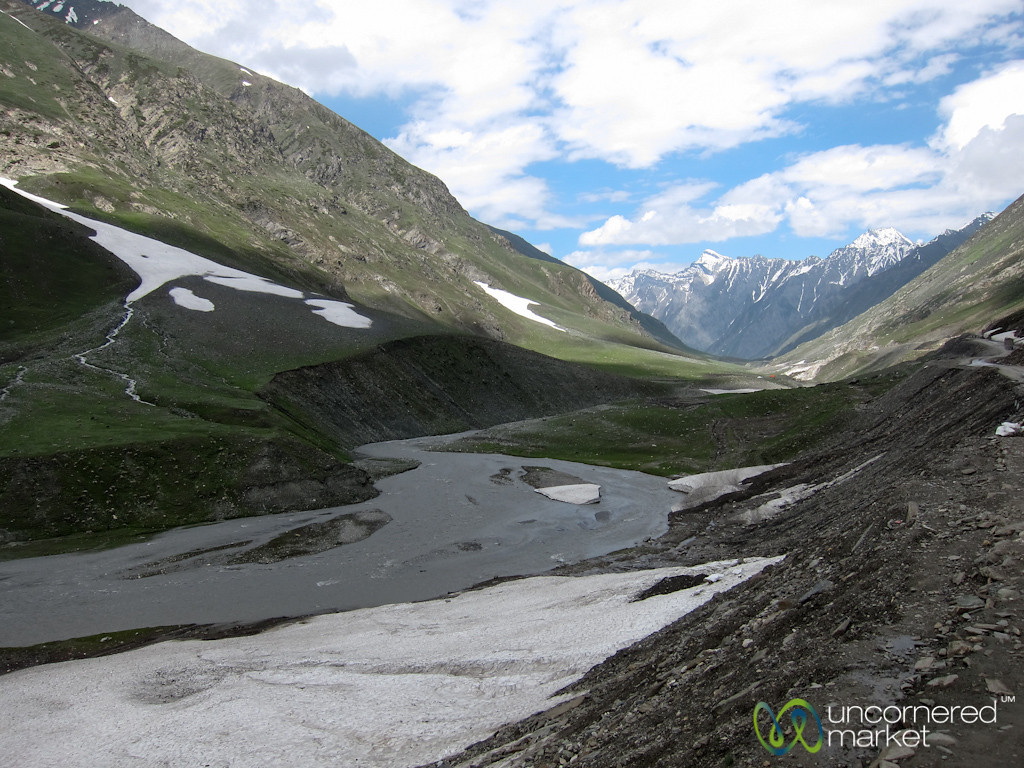 Mountain Landscapes Between Kashmir and Ladakh, India