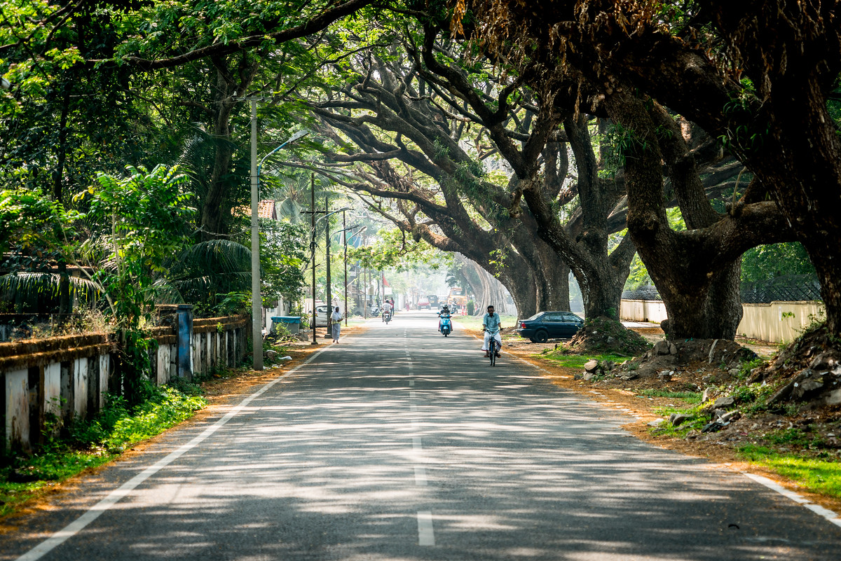 Street in Kochi, India