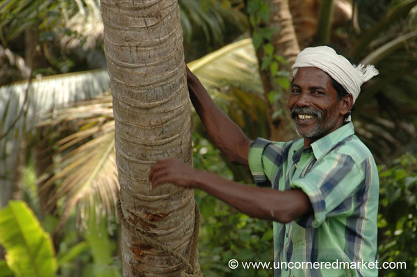Big Smile - Kerala Backwaters, India