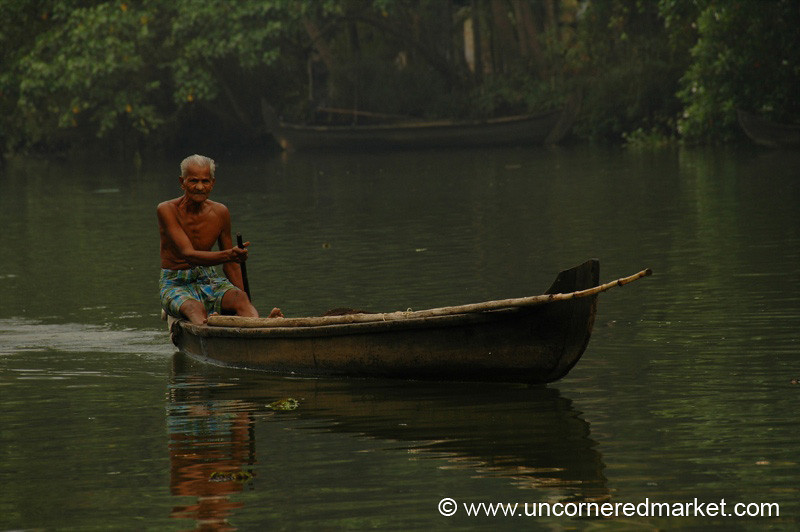 Life on Water - Kerala Backwaters, India