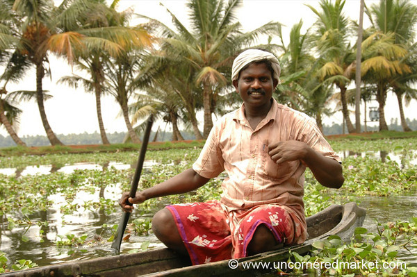 Kerala Backwater Man