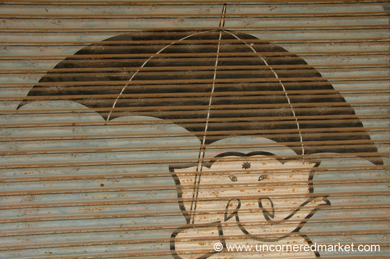 Elephant Umbrellas: Alleppey, India