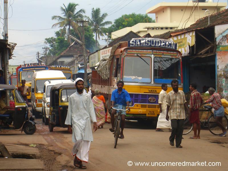 Street Scene - Kollam, India