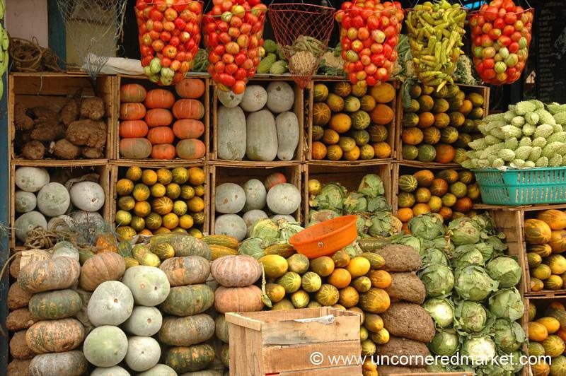 Indian Vegetable Grid - Kollam, India