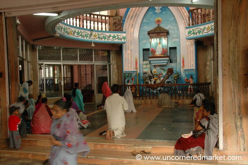 Shrine of Our Lady of Velankanni - Kollam, India