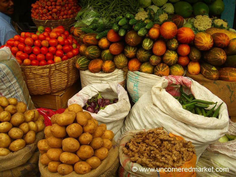 Indian Vegetables - Kollam, India