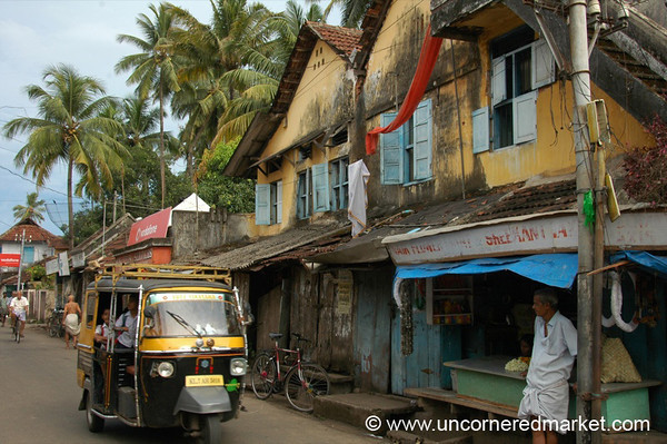 Kochi Street Scene - Kerala, India