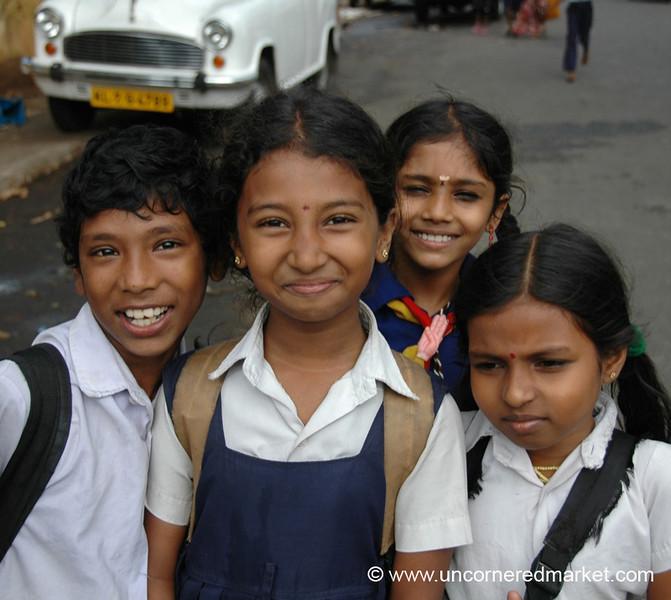 Proud School Kids - Kochi, India