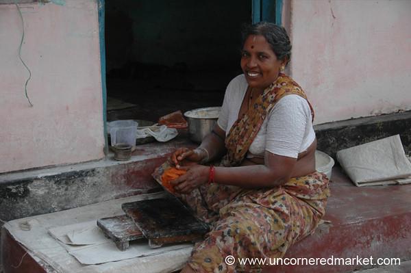 Time to Make Chapatis - Kochi, India
