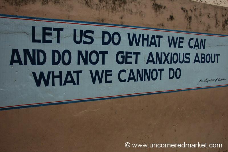 Words of Wisdom - Kochi, India