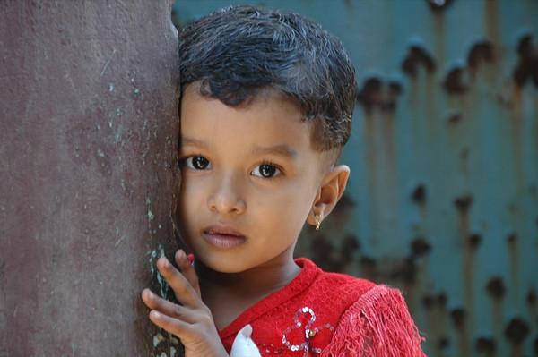 Shy Indian Girl - Kerala, India