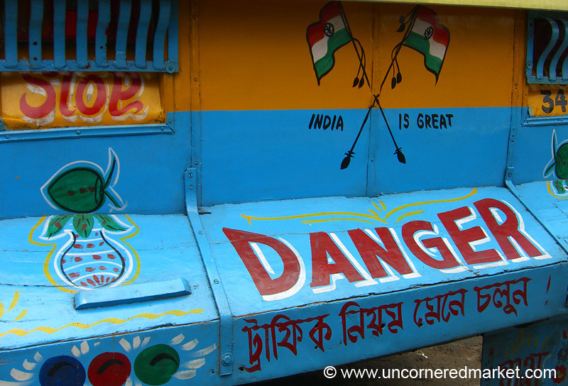 Bus Talk in Kolkata, India