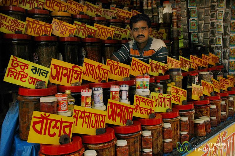 Vendor of all Powders and Spices - Kolkata, India