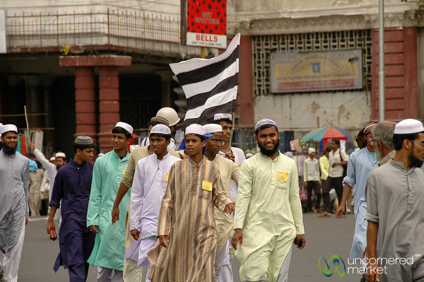Marching in Kolkata - India