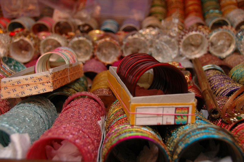 Indian Bangles - Calcutta, India