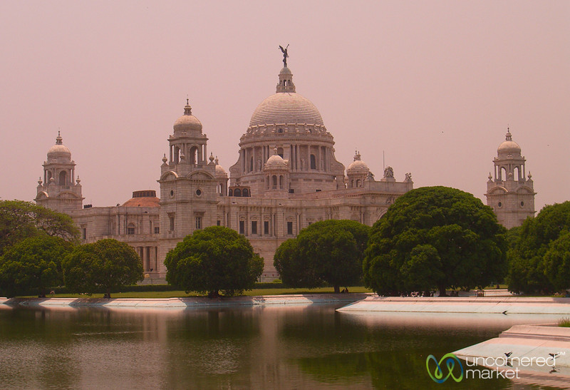 Victoria Monument in Kolkata, India