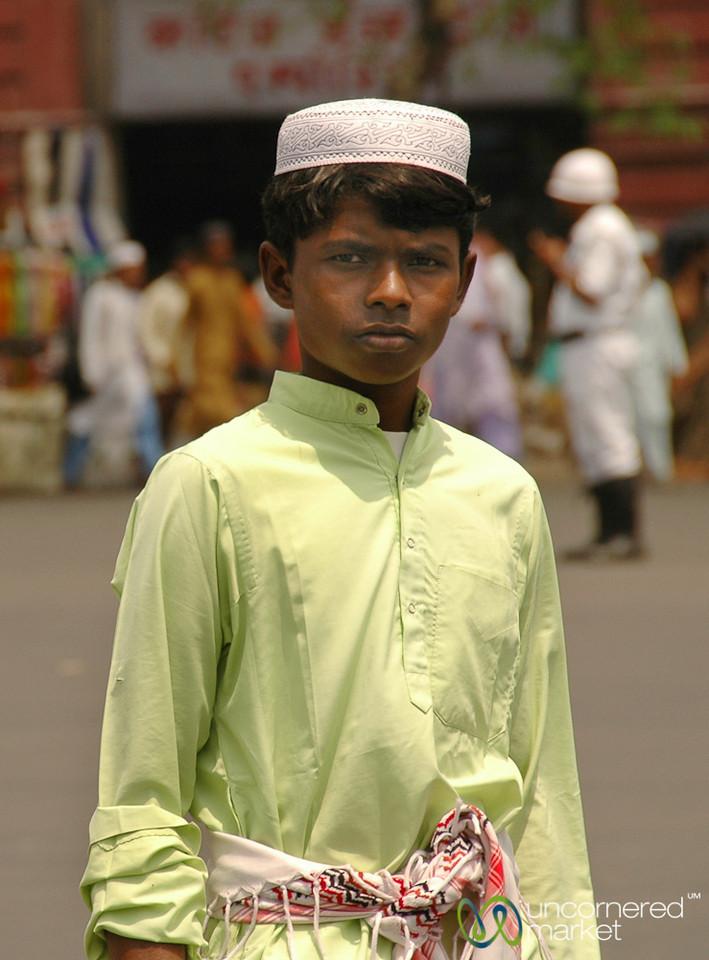 Young Man in Kolkata, India