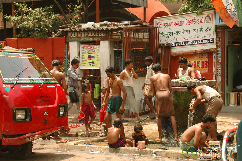 Public Well and Spigot - Kolkata, India