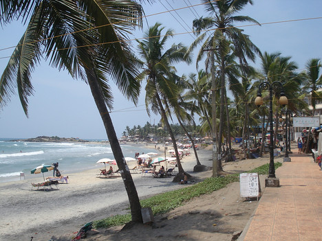 Lighthouse Beach Promenade, Kovalam - India