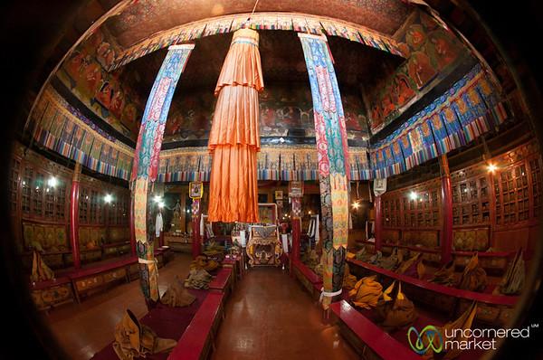 Likir Monastery, Buddhist Temple - Ladakh, India