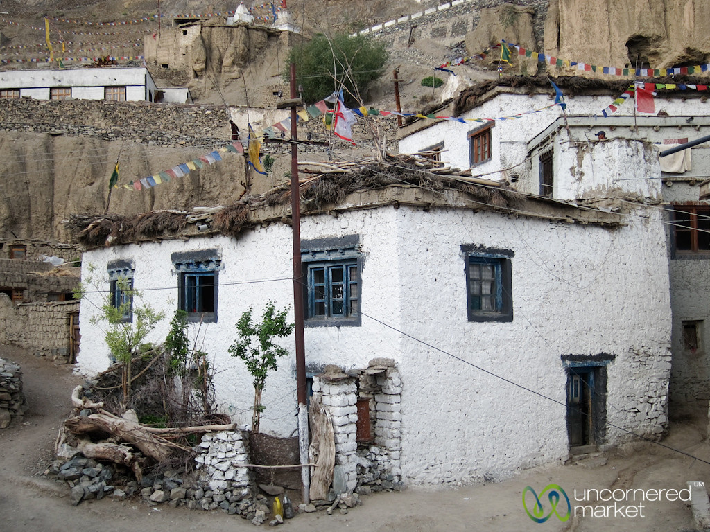 Traditional Ladakhi Homes in Lamayuru, Ladakh