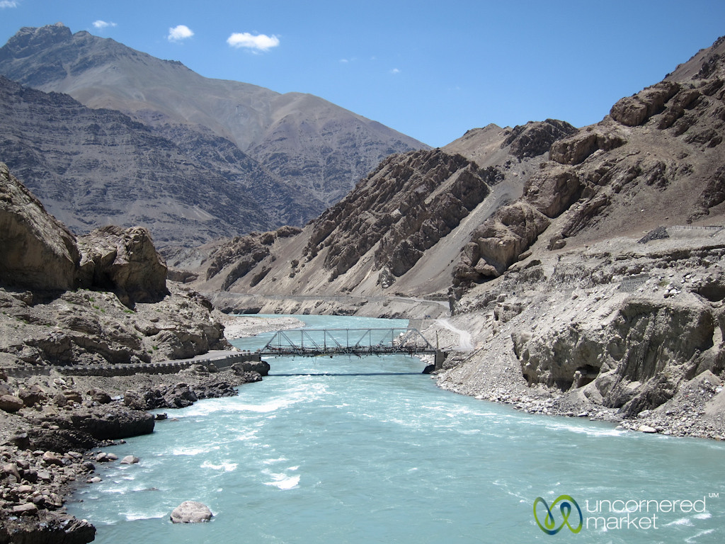 Indus River Near Alchi Monastery - Ladakh, India
