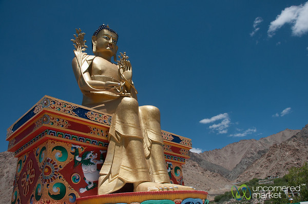 Maitreya Statue, Likir Monastery - Ladakh, India