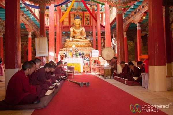 Buddhist Monk Ceremony - Hemis Monastery, Ladakh