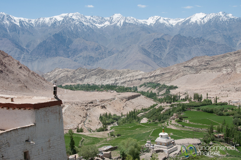 Likir Monastery, View from Above - Ladakh, India