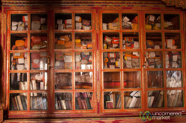 Buddhist Teachings Locked Away - Likir Monastery, Ladakh