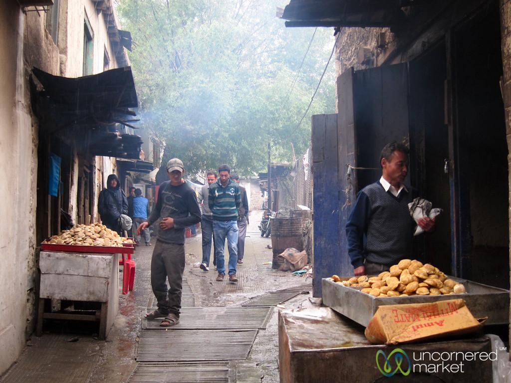 Bread Vendors in Old Town Leh - Ladakh, India