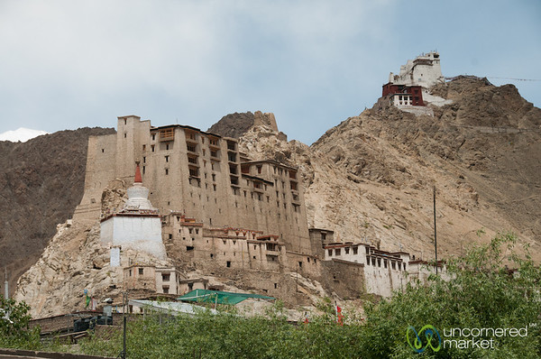 Leh Palace and Namgyal Tsemo Gompa - Ladakh, India