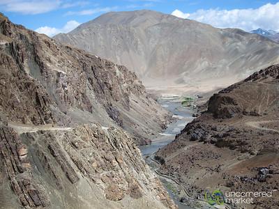 Leh to Zingchan, High Desert Mountains - Ladakh, India