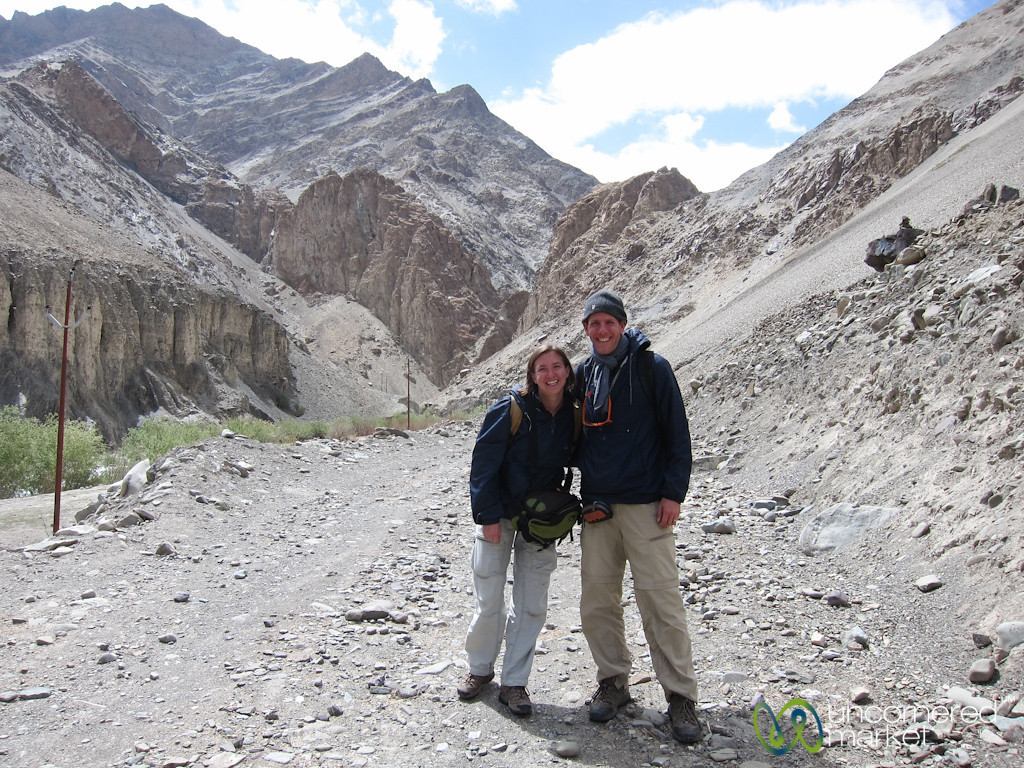 Dan and Audrey Begin Markha Valley Trek - Zingchan, Ladakh