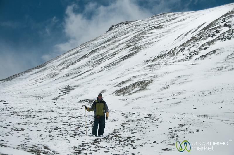 Ganda La Pass, Dan On the Way Down - Ladakh, India
