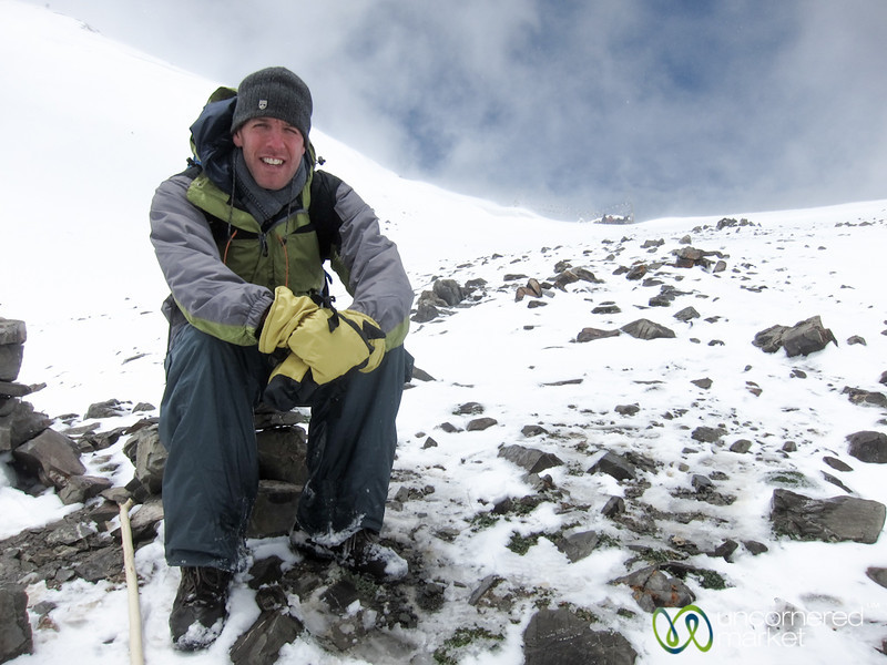 Dan at Ganda La  Pass - Markha Valley Trek, Ladakh