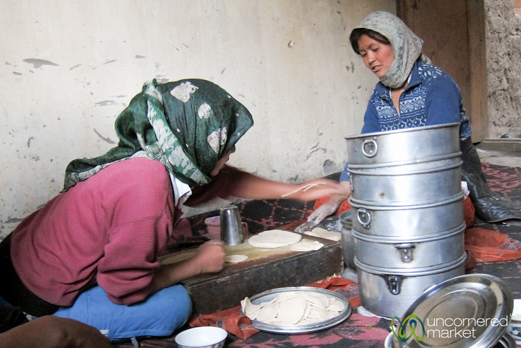 Making Momos in Markha - Ladakh, India