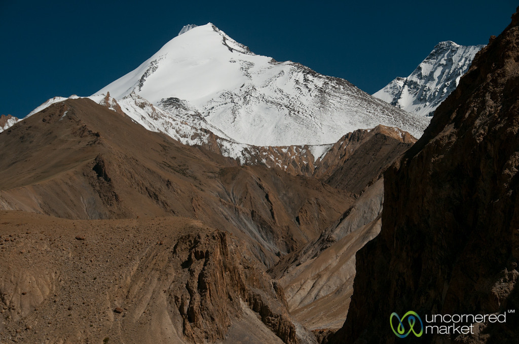 Mountain Views from Hankar Village - Markha Valley Trek, Ladakh