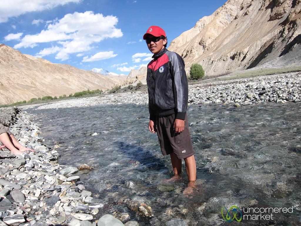 Dorjee, our Ladakhi Guide - Markha Valley Trek, Ladakh
