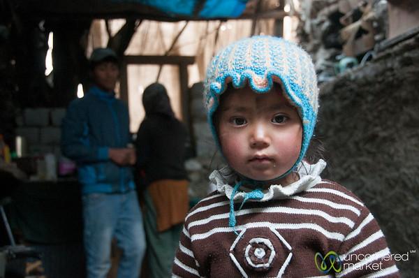Family Smile. Taken in Skyu, Ladakh