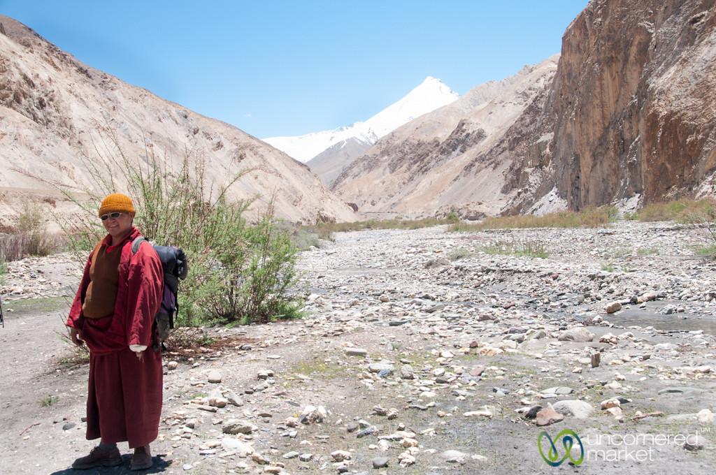 Buddhist Monk on the Trails - Ladakh, India