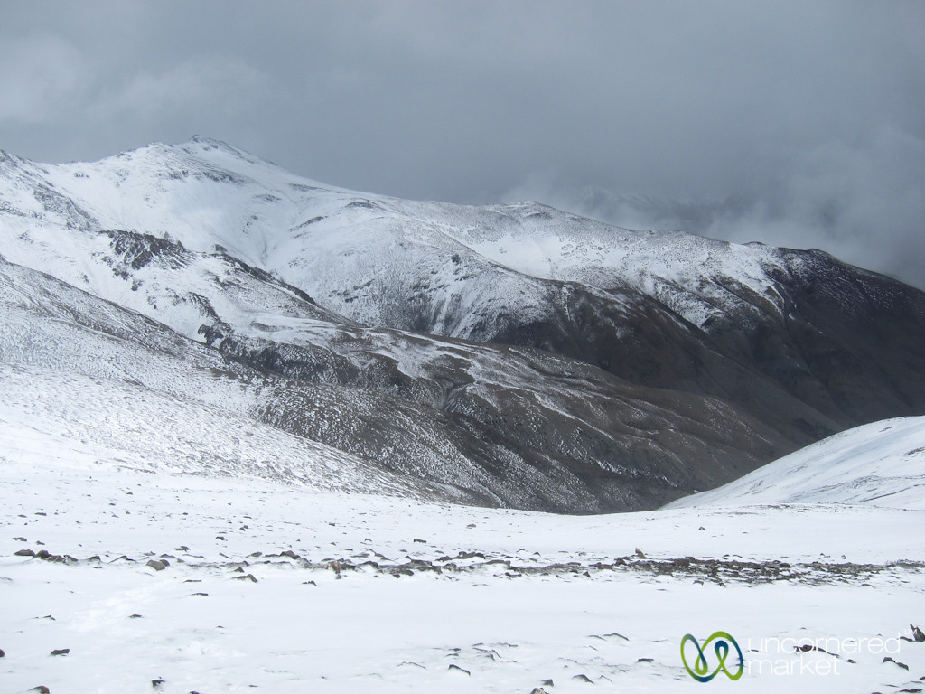 Snowstorm at Ganda La Pass - Markha Valley Trek, Ladakh, India