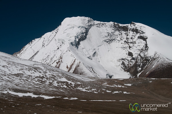Kang Yaze Peak Covered in Snow - Markha Valley Trek, Ladakh