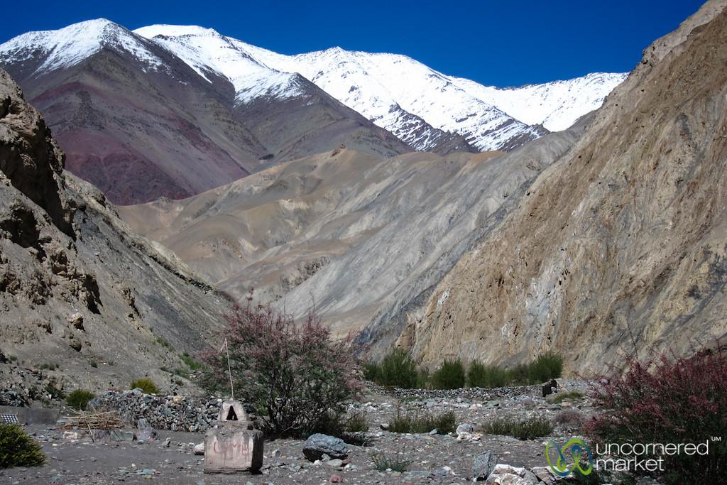 Day 4 of Markha Valley Trek, Snow Capped Mountains - Ladakh, India