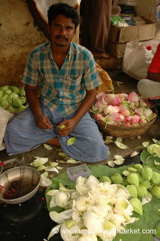 Man's Work: Madurai Flower Market